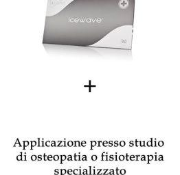 dispositivi icewave + seduta presso studio osteopatia specializzato